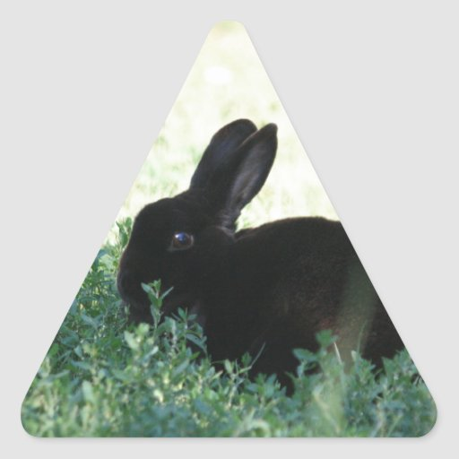 Lil Black Bunny Sticker