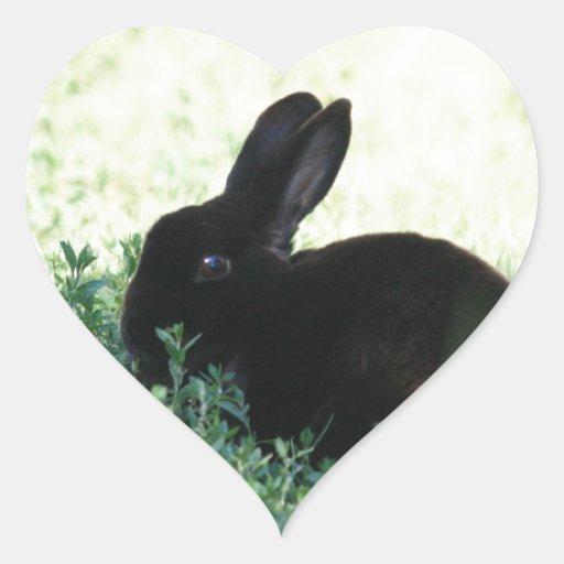 Lil Black Bunny Stickers