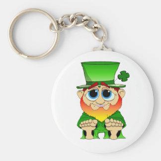 Lil Blarney Basic Round Button Key Ring