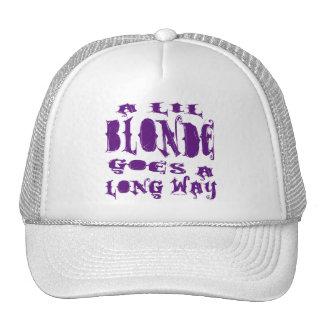 Lil Blonde Hats