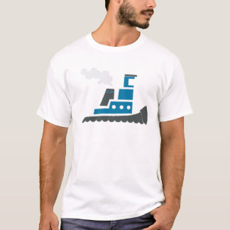 Lil Blue Tugboat T-Shirt