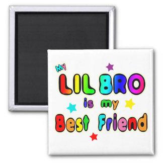 Lil Bro Best Friend Fridge Magnets