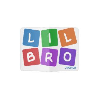 Lil Bro custom name passport cover