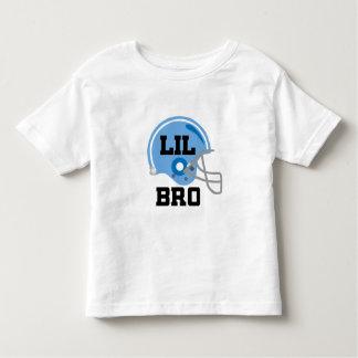 Lil Bro Football Helmet Gift Idea Toddler T-Shirt