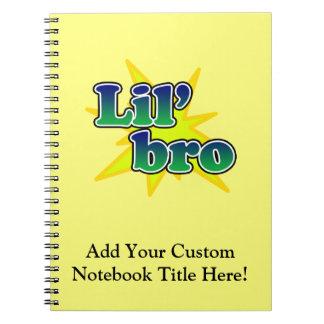 Lil Bro Spiral Note Book