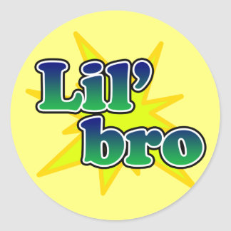 Lil Bro Stickers