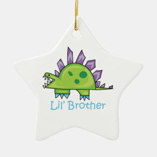Lil Brother Ceramic Star Decoration
