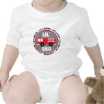 Lil Brother Fire truck Romper