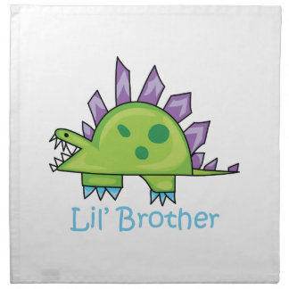 Lil Brother Printed Napkins