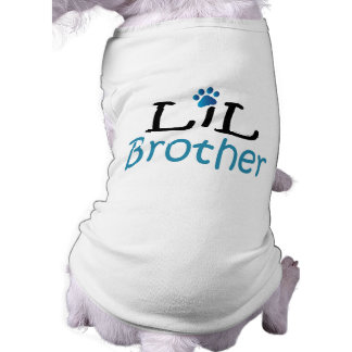 Lil Brother Pet Shirt