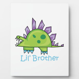 Lil Brother Photo Plaques