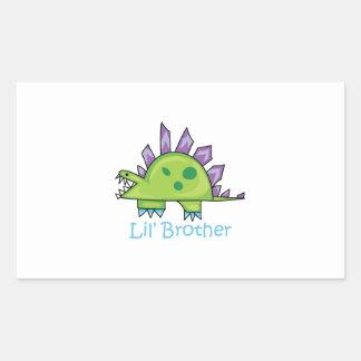 Lil Brother Rectangular Sticker