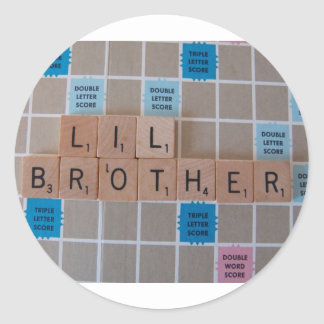 lil brother stickers
