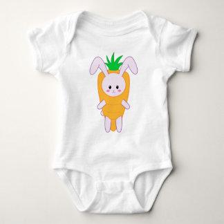 Lil Bunny - Carrot Baby Bodysuit