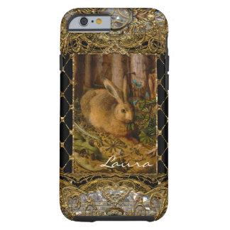 Lil Bunny in the Garden 6/6s Monogram Tough iPhone 6 Case