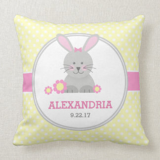Lil Bunny (pink) Cushion