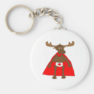 Lil Canadian, Eh? Moose Key Ring