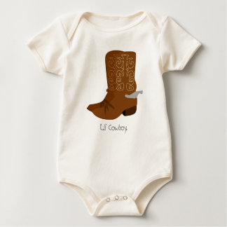 Lil Cowboy Baby Bodysuit