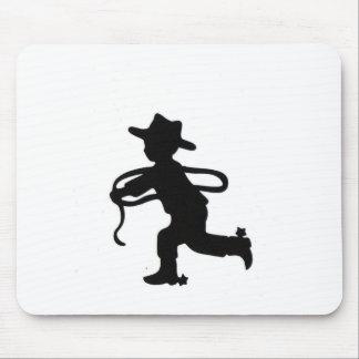 Lil cowboy mouse pad