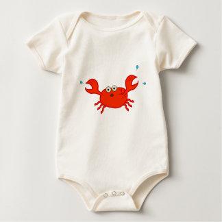 Li'l Crab Organic Creeper T-Shirt