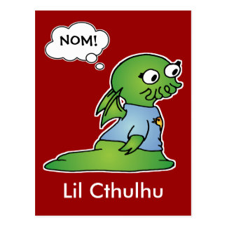 Lil Cthulhu Post Card