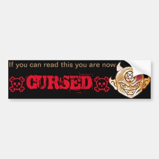 Lil' Devil Curse Bumper Sticker