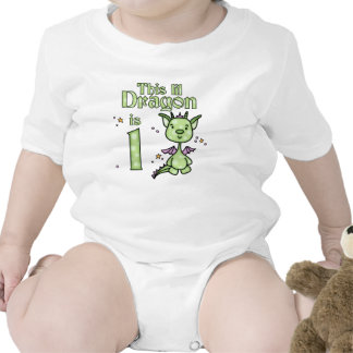 Lil Dragon 1st Birthday Tees