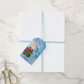 lil' Dragon Snowflake Gift Tags