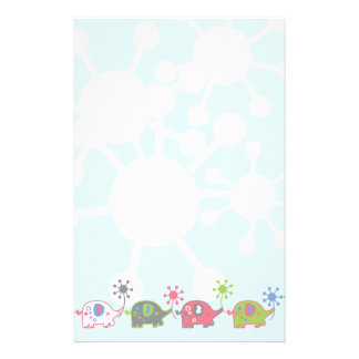 Lil' Elephants Stationery