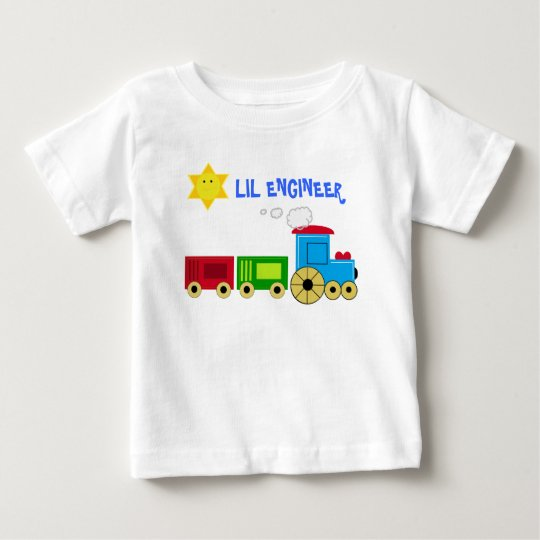 LIL ENGINEER  CHILD'S TRAIN TEE