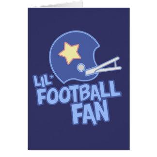 Lil Football Fan Greeting Card