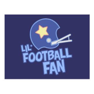 Lil' Football Fan Postcard