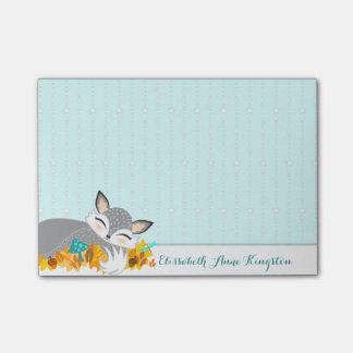 Lil Foxie Cub - Cute Fox Custom Post-it® Notes