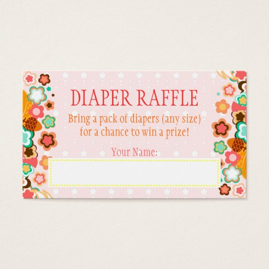 Lil Foxie Cub - Diaper Raffle Ticket