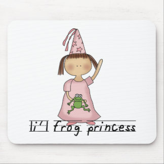 Li'l Frog Princess  Mouse Pad