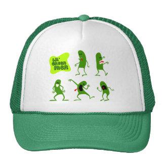 Lil Green Men Hats