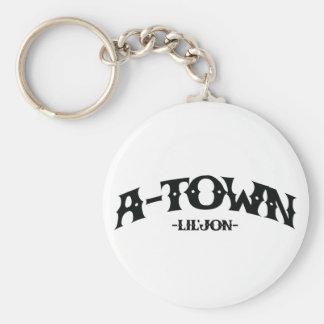 "Lil Jon ""A-Town"" Basic Round Button Key Ring"