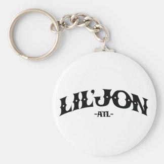 """Lil Jon """"ATL"""" Basic Round Button Key Ring"""