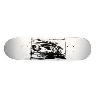 "Lil Jon ""Collaboration by Jim Mahfood and Lil Jon"" 18.1 Cm Old School Skateboard Deck"
