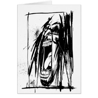 "Lil Jon ""Collaboration by Jim Mahfood and Lil Jon"" Greeting Card"