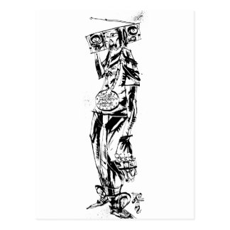 "Lil Jon ""Collaboration by Jim Mahfood and Lil Jon"" Postcards"