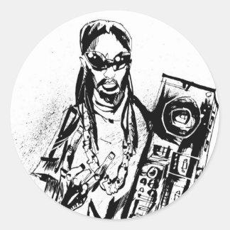 "Lil Jon ""Collaboration by Jim Mahfood and Lil Jon"" Sticker"