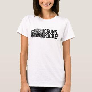 "Lil Jon ""Crunk Rocker Boombox Black White"" T-Shirt"