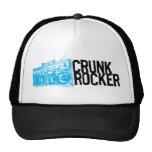 "Lil Jon ""Crunk Rocker Boombox Blue"" caps"