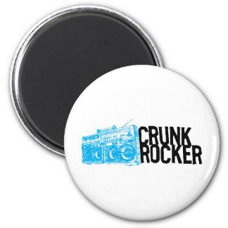 "Lil Jon ""Crunk Rocker Boombox Blue"" Magnet"