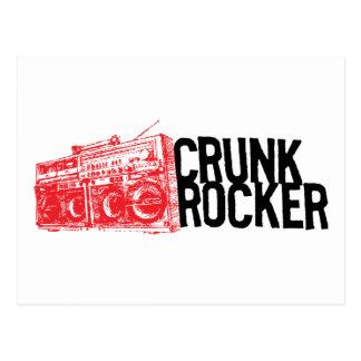 "Lil Jon ""Crunk Rocker Boombox Red"" Postcard"