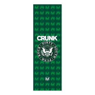 "Lil Jon ""Crunk Seal"" Double-Sided Mini Business Cards (Pack Of 20)"