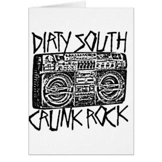 "Lil Jon ""Dirty South Boombox Black"" Greeting Card"