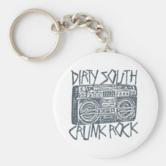 Lil Jon Dirty South Boombox Gray Keychains
