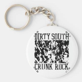 "Lil Jon ""Dirty South Crunk Rock"" Basic Round Button Key Ring"